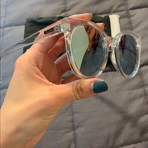 Quay sunglasses with case!